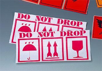 Предупреждающая наклейка \