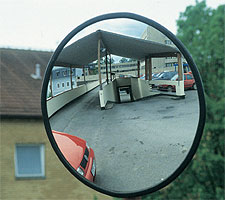 Klaaspeegel Ø 400 mm