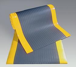 Ковровое покрытие, с желтыми полосами по бокам, ширина 910 мм
