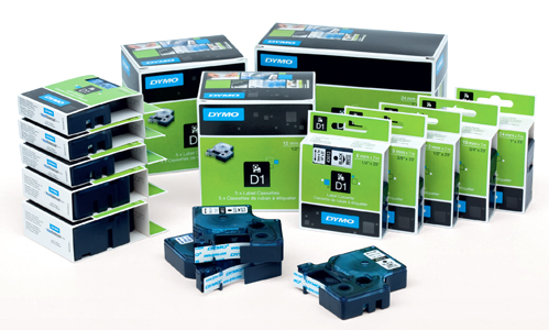 DYMO kassetid, lindid, kleebised