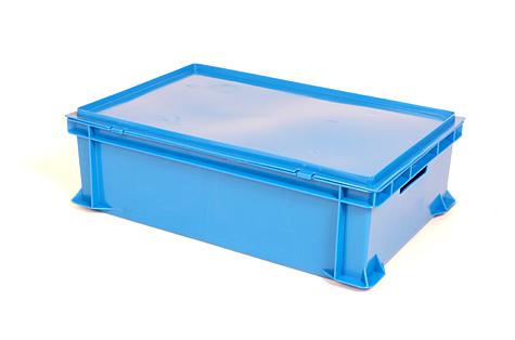 Vāks EURO kastei 600 x 400mm, zils