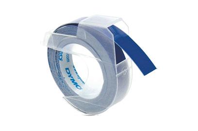 DYMO 3D виниловая лента, 9мм, синяя