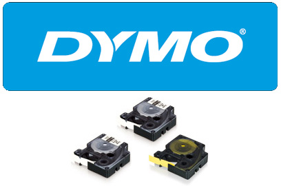 DYMO RHINO 18483, 12mm valge/must, polüester