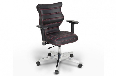 Ergonomisks biroja krēsls Vero Prestige II, dabīga āda