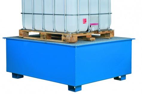 Drošas paletes CIPAX konteineriem, vienam konteineram