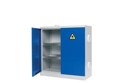 Низкий шкаф для хранения химии