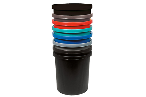 Plastmasas atkritumu tvertne, 18L
