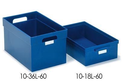 Пластмассовый ящик 10-18L-60, 18 л