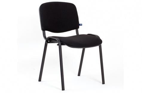 Конференц стул ISO, черный/чёрный каркас