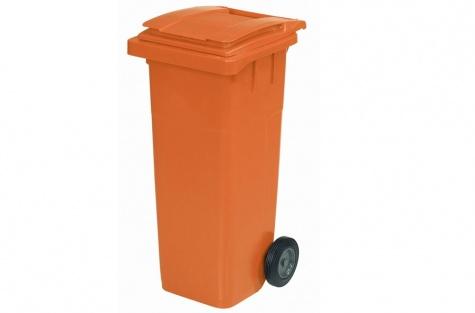 Ekoloģisko atkritumu tvertne, oranža, 140 l