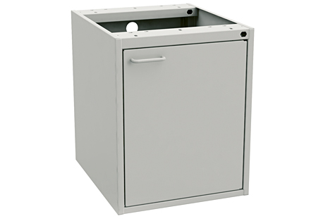 Drawer unit 45/56, ESD greyDoor right