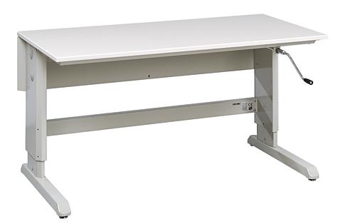 Komplekt: töölaud Concept (käsivintsiga), 1500 x 750 mm