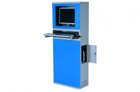Metāla skapis datoram