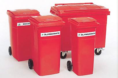 Õlijääkide konteiner, 660l