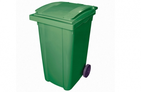 Atkritumu konteiners, 240l, zaļš