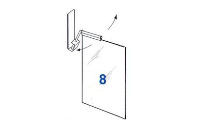 8. Rippuv etiketitasku, A4