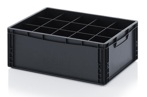 Перегородка для ESD ящиков хранения, 10x4, 200 мм