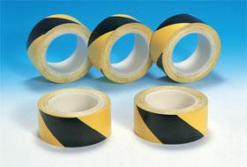 Предупреждающая лента, желтая / черная