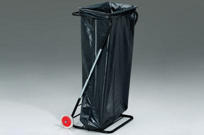 Тележка для 1-го (150 л) или 2-х мусорных мешков (75 л)