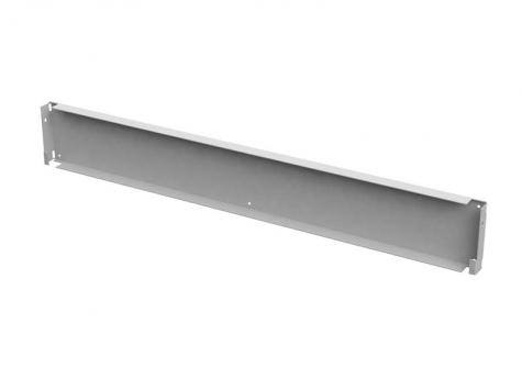 Монтажная панель для вертикальных профилей, 1200 мм