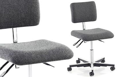 ESD-darba krēsls X30, pelēks
