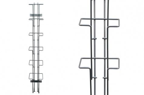 Металлический рекламный стенд 6 x 1/3 A4
