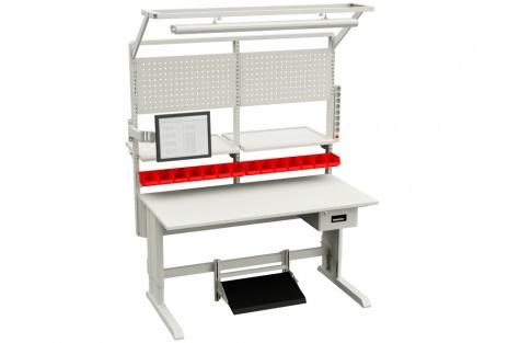 Komplekt: töölaud Concept, 1500 x 750 mm