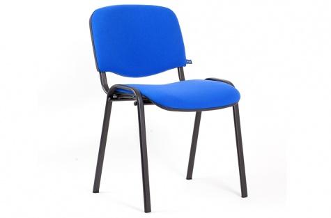 Konferenču krēsls ISO, zils/melns karkass