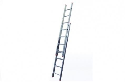 Kaheosaline redel KTS-250, 2 x 10 astet