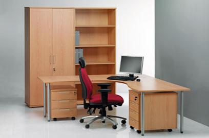 Komplekt: kontorilaud Classic, pöök