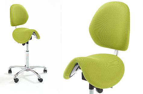 Sedlu krēsls Pinto ar atzveltni
