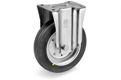 S53 Plaatkinnitusega otsejooksuga ratas Ø 125x37,5mm