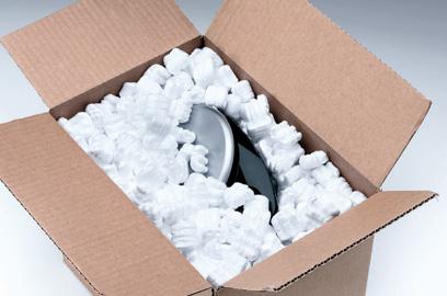 Pakendi täidismaterjal PS-E, 250 liitrit