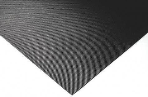 Гофрированный резиновый коврик, 1000 мм х 10 м