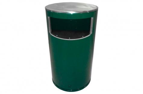 Metāla atkritumu tvertne, 60 l
