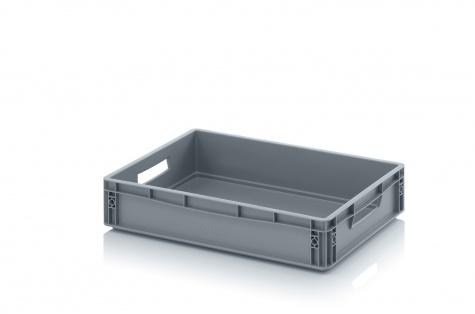 Plastmasas kaste, 600 x 400 x 120 mm, 24 L