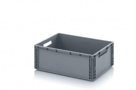 Plastmasas kaste, 600 x 400 x 220 mm, 45 L