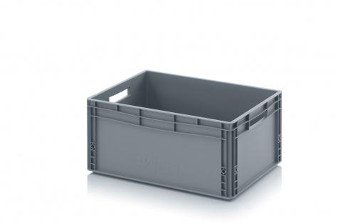 Plastmasas kaste, 600 x 400 x 270 mm, 56 L