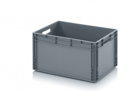 Plastmasas kaste 600 x 400 x 320 mm, 66 L