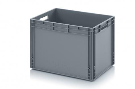 Plastmasas kaste, 600 x 400 x 420 mm, 88 L