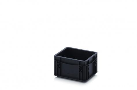 ESD-noliktavas kaste, 200 x 150 x 120 mm