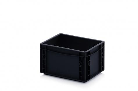 ESD-noliktavas kaste, 300 x 200 x 170 mm