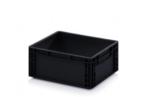 ESD-noliktavas kaste, 400 x 300 x 170 mm