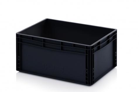 ESD-noliktavas kaste 600 x 400 x 270 mm