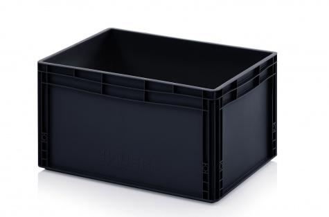 ESD-noliktavas kaste 600 x 400 x 320 mm
