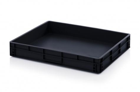ESD-noliktavas kaste 800 x 600 x 120 mm