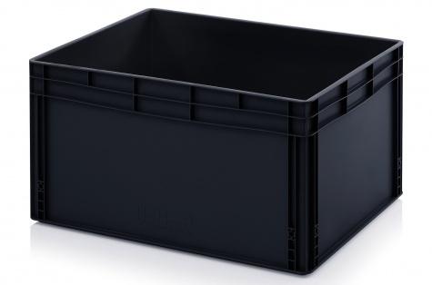 ESD-noliktavas kaste 800 x 600 x 420 mm