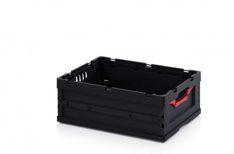 Saliekama ESD-noliktavas kaste, 600 x 400 x 220 cm