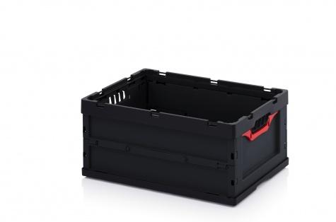 Saliekama ESD-noliktavas kaste, 600 x 400 x 270 cm