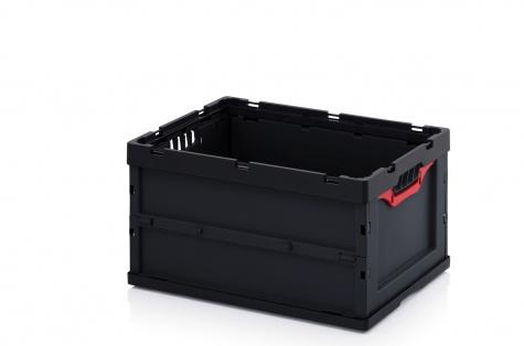 Saliekama ESD-noliktavas kaste